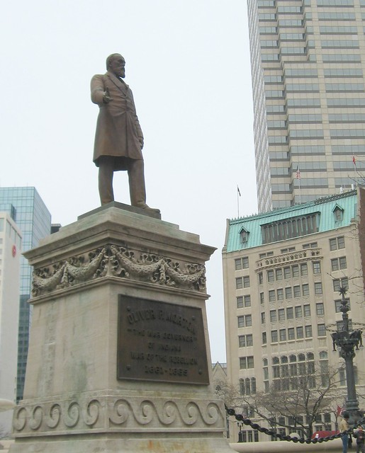 Statue of Oliver P. Morton