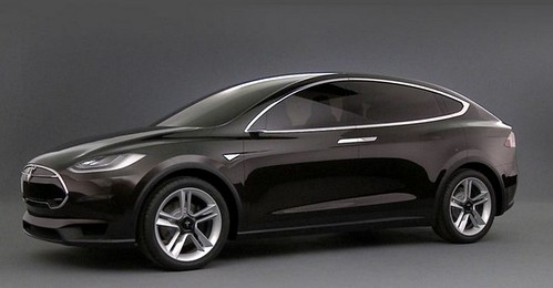 2014 New Tesla X Crossover
