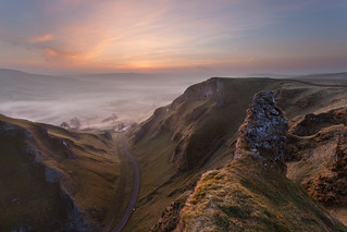 Winnats pass - Just before sunrise