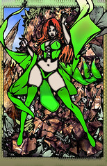 The Goblin Queen (DreagusProd1) Tags: coloring layers restyle example enhancement graphic art experimental photoshop