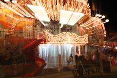 Zooooom (nibrjosa) Tags: county carnival long fair barry rides exposures