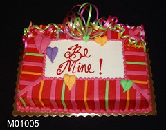 M01005 (merrittsbakery) Tags: cake holiday seasonal valentine ribbon valentinesday