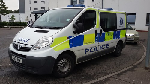 SN61 DNE VAUXHALL VIVARO CDTI POLICE SCOTLAND