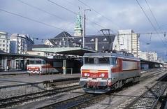 15054  Luxembourg  18.11.00 (w. + h. brutzer) Tags: luxembourg eisenbahn eisenbahnen train trains frankreich france railway elok eloks lokomotive locomotive zug 15000 sncf webru analog nikon