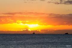 IMG_2289 - Gone Fishing (Stephen Baldwin Photography) Tags: fishing boat water sunrise ocean rock clouds shoal bay nsw australia