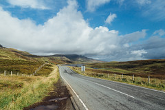 The road to the Old Man of Storr (Tim Bow Photography) Tags: timbowphotography travelphotography scotland landscape scottishlandscape beautifullandscape canonukphotography traveluk colour color canon6d timboss81 isleofskye weather green landscapesofskye skye roadtotheoldmanofstorr theoldmanofstorr oldmanofstorr road travelling drive driving scottish