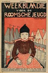 weekblad voor de Roomsche Jeugd 1933 cover nr 4 Volendam (janwillemsen) Tags: magazinecover volendam oldmagazineillustration1933tijdschriftvoorderoomschejeugd