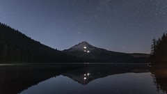 What if the life passes by fast forward (Robie..) Tags: trilliumlake oregon mthood timelapse