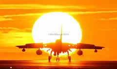 'Great Balls of Fire' Tornado GR4 into the Sun (markranger) Tags: sunset tornado gr4 raf marham fastjet
