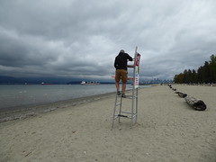 Baywatch - the duty calls (misiekmintus) Tags: baywatch vancouver bc canada