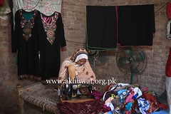 Working from Home. (Akhuwat BPP) Tags: sukkur pakistan interest free loans microfinance entrepreneurship ordinary people small business working from home akhuwat