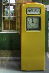 Beckmeter - petrol pump (velton) Tags: merseyside birkenhead cheshire mersey river tram car bike motorcycle vintage veteran bus truck automobile van pumps petrol gas old timer