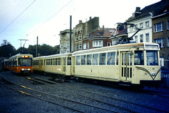 Slide 071-15 (Steve Guess) Tags: tram tramway streetcar strassenbahn strasenbahn  belgium belgique belgien belgi  flanders flandre flandern  nmvb sncv vicinal oostende ostend