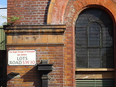 LOTS ROAD S.W.10 (andyaldridge) Tags: lcc london londoncountyconcil lotsroad thameswater waterworks