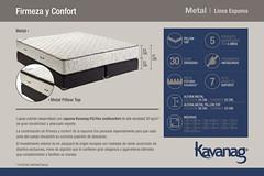 Lnea Espuma - Metal (Kavanag Colchones & Sommiers) Tags: mattress colchon sommier colchones sommiers kavanag espuma resortes dormir soar