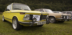 BMW 2002, Opel Diplomat B - IMG_5112-e (Per Sistens) Tags: cars thamslpet thamslpet16 orkladal veteranbil veteran bmw 2002 opel diplomat