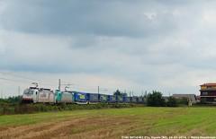 E186 901 + E483 01x (MattiaDeambrogio) Tags: treno treni train trains e186 e483 lkw walter vignale novara domodossola tec doppia trazione