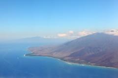molokai + west maui (1600 Squirrels) Tags: 1600squirrels photo 5dii lenstagged canon24105f4 throughglass aerial pacific ocean molokai westmaui maui hawaii usa
