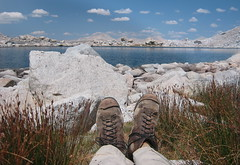 Trusty old Pivetta 5's (Jeff Goddard 32) Tags: highsierra sierranevadamountains california inyocounty pivetta5s hikingboots alpine