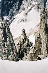 (Jaka Bulc) Tags: contax t2 agfa film analog 35mm mont blanc aosta italy france mountains alps glacier crevasse