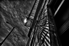 skybound (Light Paintings by Dez) Tags: bw blackandwhite monochrome guelph ontario outdoor canada clouds design dez downtown hdr nikon nikond610 nikkor1424mm nikkor