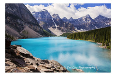 Moraine Lake, Banff National Park (PhotoDG) Tags: morainelake banffnationalpark lake nationalpark banff glacier glacierfed colour icefieldparkway