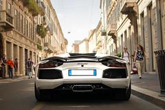 Spoiler up! (David Clemente Photography) Tags: lamborghini lamborghiniaventador lamborghiniaventadorlp7004 aventador aventadorlp7004 lp7004 milan carspottingmilan supercars hypercars