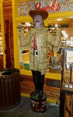 Wild Bill Hickock at Wall Drugstore (Jeffxx) Tags: drug store drugstore wall south dakota 2016 museum statue wild bill hickock
