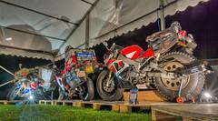 World traveller; Honda Fireblade, Yamaha R1 x2 by Sjaak Lucassen (Jocke Selin) Tags: yzfr1 motorbikes adventure honda roundtheworld polarice motorcycles bikes rtw overlandmagazine yamaha theoverlandevent2016