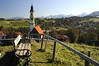 *B*A*V*A*R*I*A* (JohannesMayr) Tags: allgäu pfronten germany bayern deutschland kirche herbst autum berge alpen alps ostallgäu füssen overlook aussicht bank
