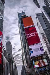 This Bud's for you (kellyhackney1) Tags: thisbudsforyou timessquare piccy advertising newyork newyorkcity newyorkbaby manhattan bigapple tall city citybreak crazyplace