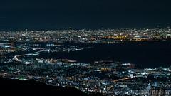 a night view from Mt. Rokko (1) Amagasaki City & Osaka City bay area (double-h) Tags: powershotg7x powershot g7x nightview amagasaki osaka osakacity yodoriver yodogawa osakabay mtrokko rokkosan tenrandai