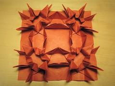Crane Congregation Tessellation (Ma1tt) Tags: matt humberstone origami tessellation crane congregation matthumberstone
