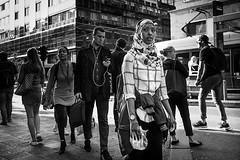 P1050860 (yann CM B) Tags: oslo blackandwhite blackwhitepassionaward blackdiamond streetphotography panasonic gx80 people urban alone norway
