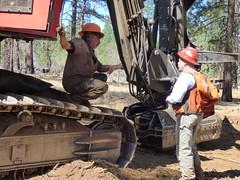 BLM Employees at Work (BLMOregon) Tags: bureauoflandmanagement blm forestry logging oregon skidder