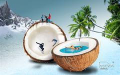 Atelier2 - Vero e Inverno (Atelier 2) Tags: atelier2 vero inverno esquiando coco azul esqui coqueiro montanha