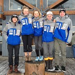 BC Ski Team at Apex Speed Camp - Brodie Seger, Sarah Freeman, Sarah Elliot, Dominic Unterberger, Blake Ramsden PHOTO CREDIT: Gordie Bowles