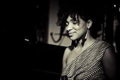 Bella Fort @ House of Jazz (Cyrielle Beaubois) Tags: show music canada concert hiver jazz qubec singer bella musique chanteuse houseofjazz fort canoneos5dmarkii cyriellebeaubois bellafort