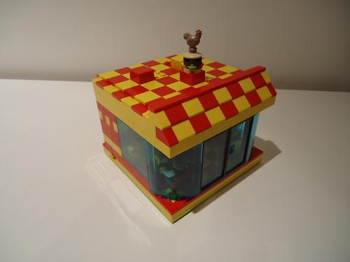 Chicken Burger MOC 12