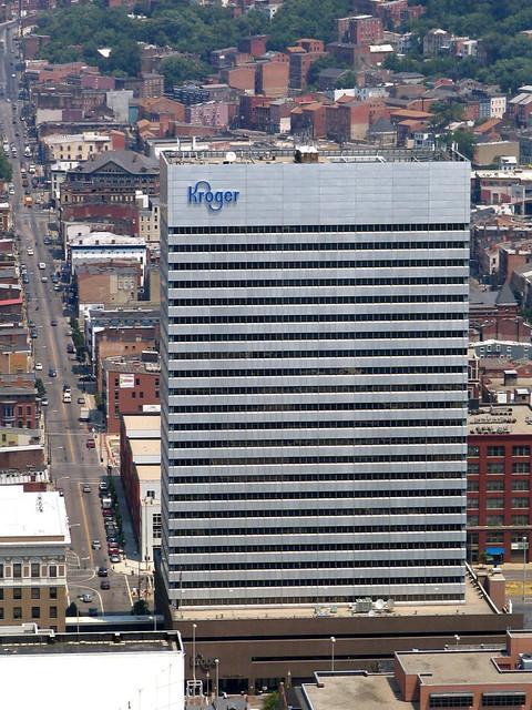 Cincinnati From Above #17: Kroger Building