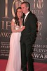 Lorraine Keane and Guest at Irish Film and Television Awards 2013 at the Convention Centre Dublin