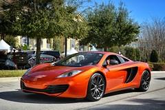 McLaren MP4-12C (Jason Sha'ul) Tags: orange orlando nikon florida mclaren dslr v8 lakemary carsforthecure mp412c