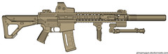 Knight's Armament M110C SASS (Kyle Sarver) Tags: gun rifle knights sniper eotech silencer suppressed armament suppressor pmag magpul