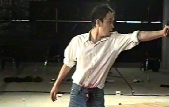 Performer Nick Tandavanitj