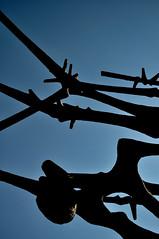 Dachau (paolo bonfanti) Tags: nikon dachau auschwitz germania lager shoah scultura paura terrore d90