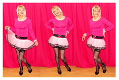 Carole_S (sissy_carole) Tags: pink girl pretty girly sissy wrist swishy limp