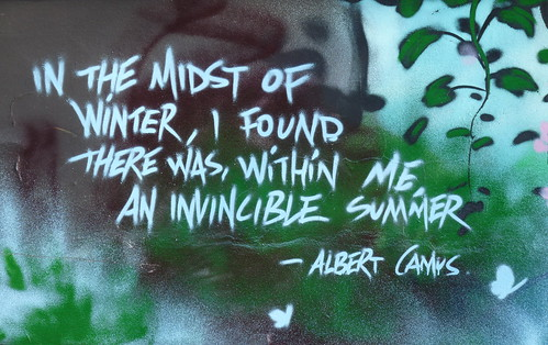 Albert Camus graffiti