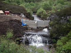 Eigg Electric hydro dam