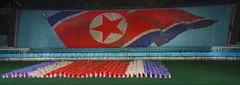 North Korean Flag During The Arirang Mass Games At May Day Stadium, Pyongyang, North Korea (Eric Lafforgue) Tags: show people color colour horizontal night asian creativity outdoors photography togetherness clothing war asia nightshot outdoor stadium propaganda mosaic flag politics capital performance celebration event mass mayday multicolored awe performer stade northkorea traditionalculture skill axisofevil pyongyang dictatorship occupation dprk stalinist traditionalclothing arirang capitalcities choregraphy traveldestinations colorimage teamevent synchronization traditionalfestival northkorean traveldestination stagecostume democraticpeoplesrepublicofkorea artscultureandentertainment massgames celebrationevent peopleinarow unrecognizableperson maydaystadium dpkr performingartsevent massgame rungrado massmouvement largegoupofpeople eti2142