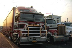 photo by secret squirrel (secret squirrel6) Tags: melbourne kel kenworth footscray cabover aerodyne secretsquirrel6truckphotos